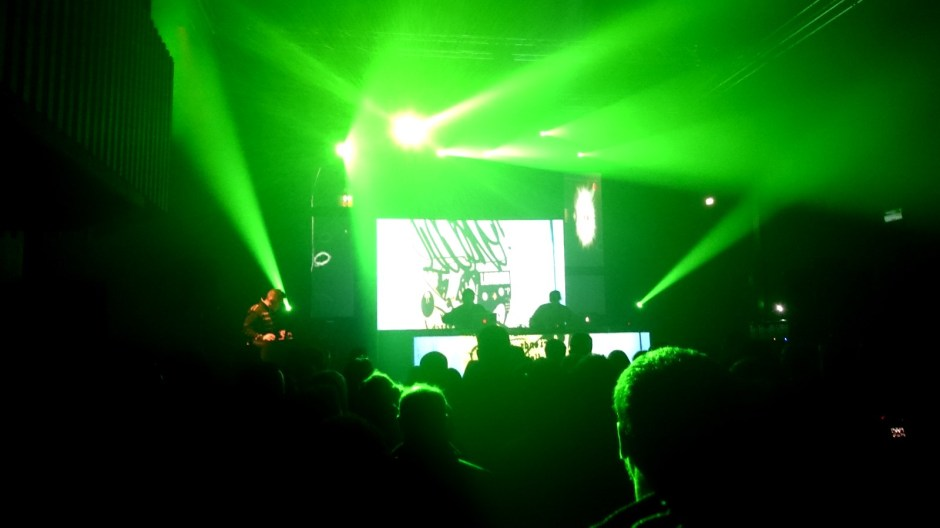 Concert Electro à La Souris Verte.