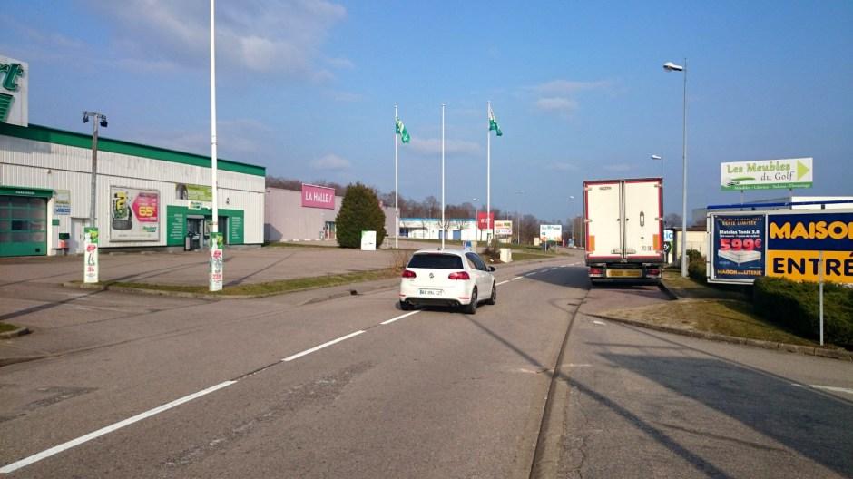 Modification du plan de circulation dans la ZAC du Saut-le-Cerf.