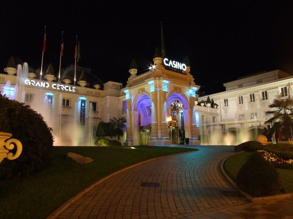 Le Casino Grand Cercle d'Aix-les-Bains.