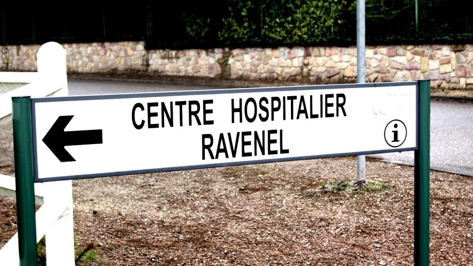 Frontstalag 120 - L'hôpital psychiatrique de Ravenel.
