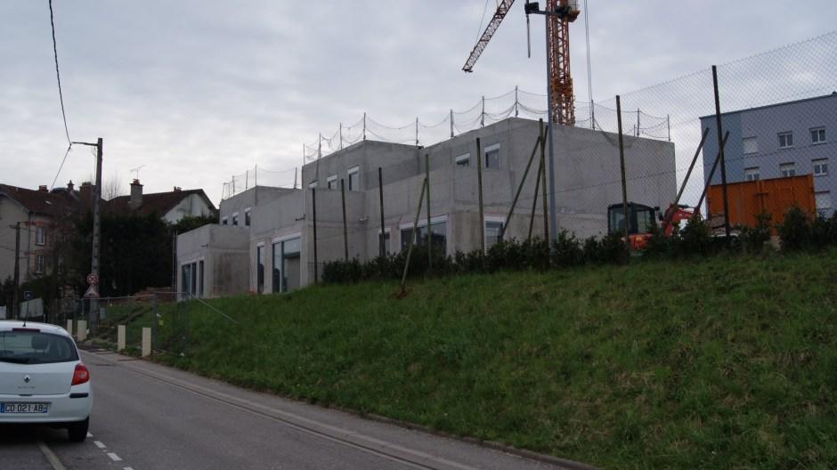 Travaux de restructuration de l'externat « Newton » du Lycée Louis Lapicque d'Epinal.