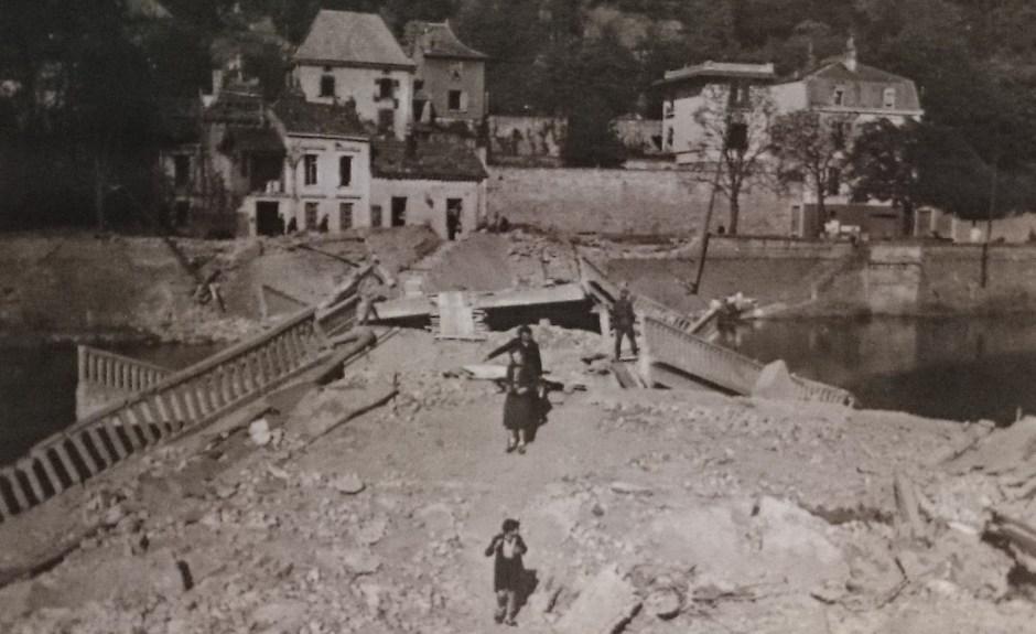 Pont Clémenceau Epinal 1944