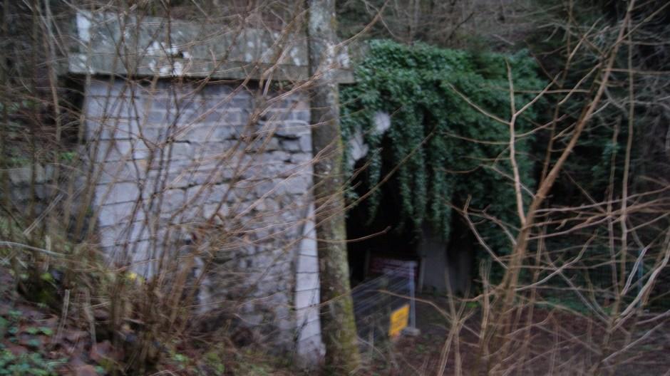 L'entrée du tunnel côté Alsacien dans son état actuel.