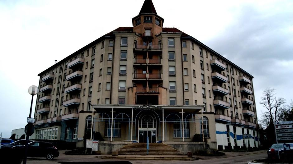 L'hôpital de Vittel.