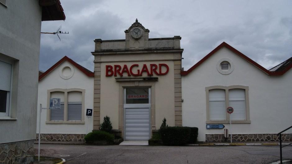 L'ancen site industriel de Bragard à Epinal.