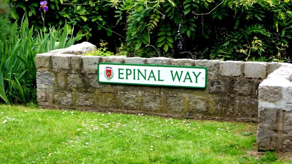 Le square de Loughborough à Epinal.