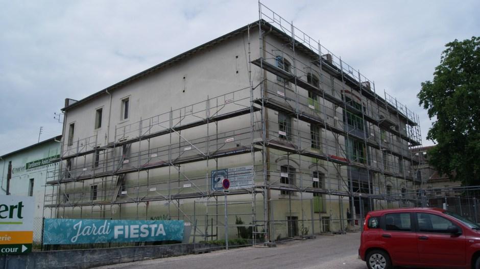 Rénovation du bâtiment du 2 rue de Nancy pour le pôle images d'Epinal.