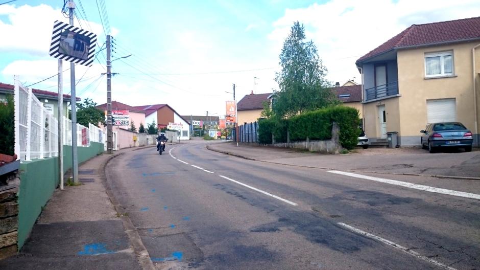 Travaux rue du Général Haxo à Epinal.