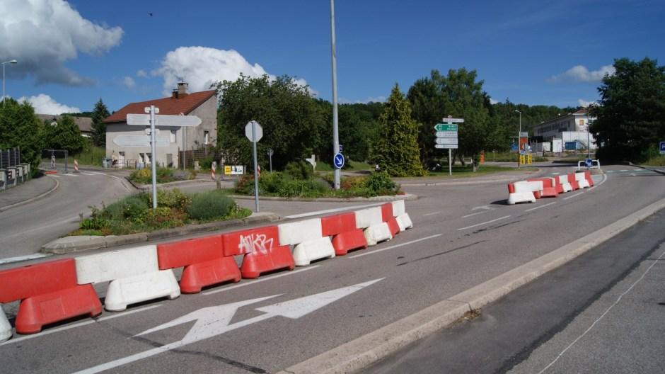 Travaux rue André Vitu à Epinal.