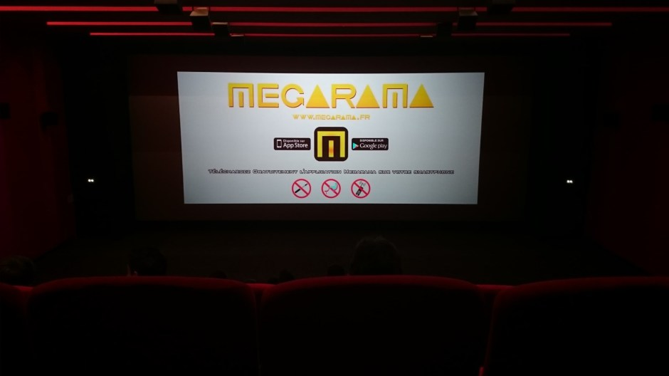 Le cinéma Mégarama de Lons-le-Saunier.