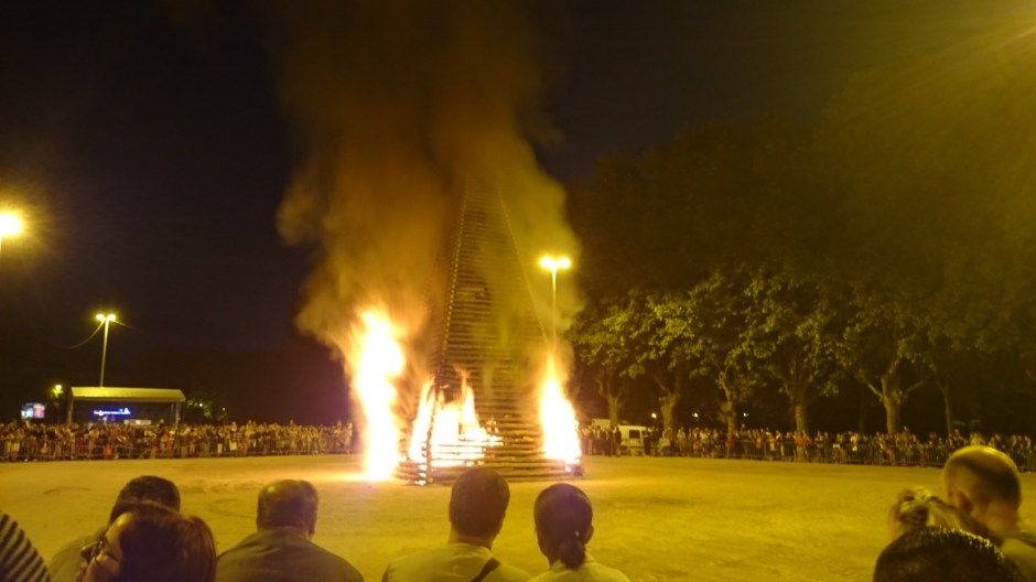 Feux de la Saint-Jean d'Epinal 2015.