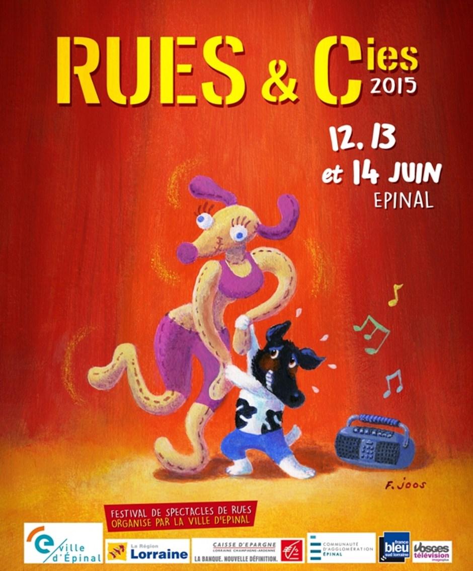 Festival Rues & Cies 2015