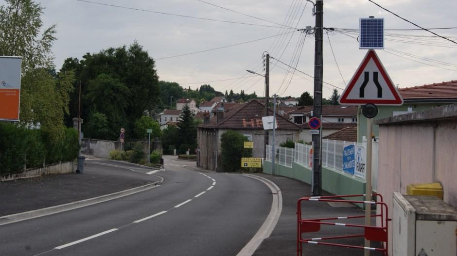 La fin des travaux pour la rue Haxo à Epinal.