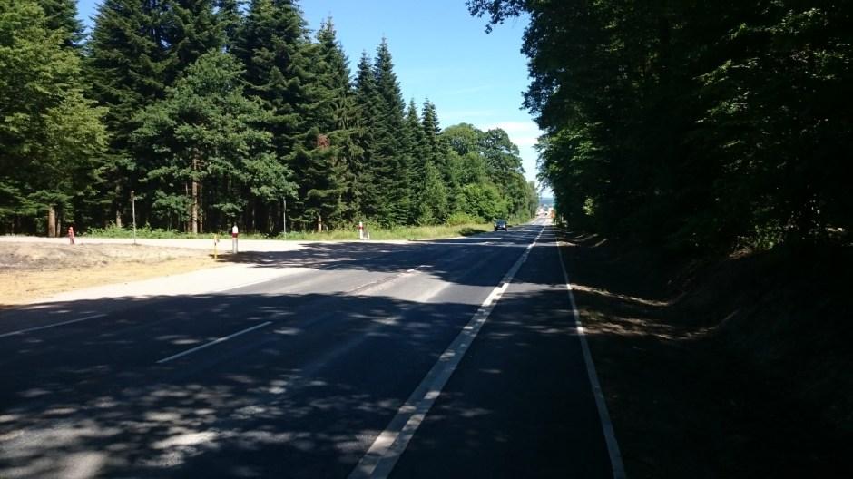 Mise aux normes de la RD 166 à l'entrée de Golbey.