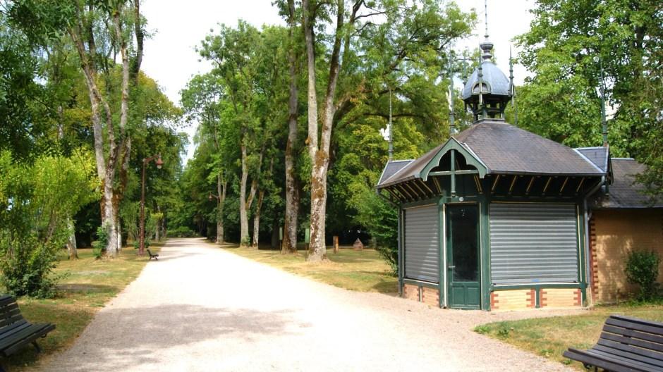 Le parc thermal de Vittel.