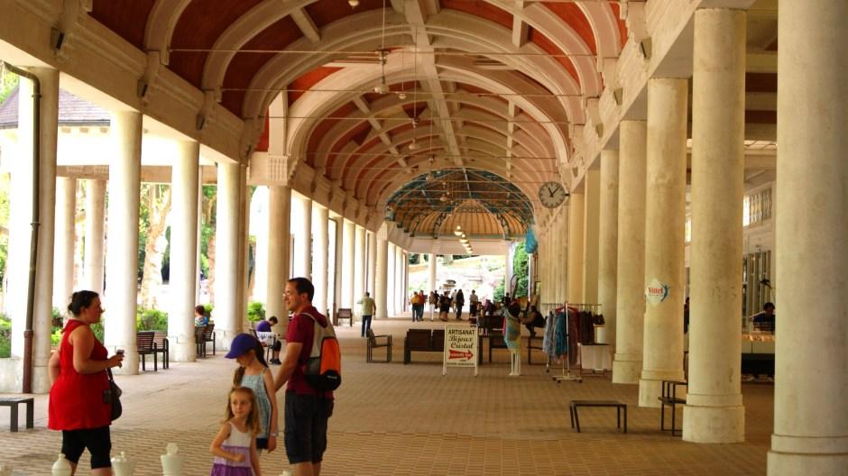 La grande galerie de Vittel.