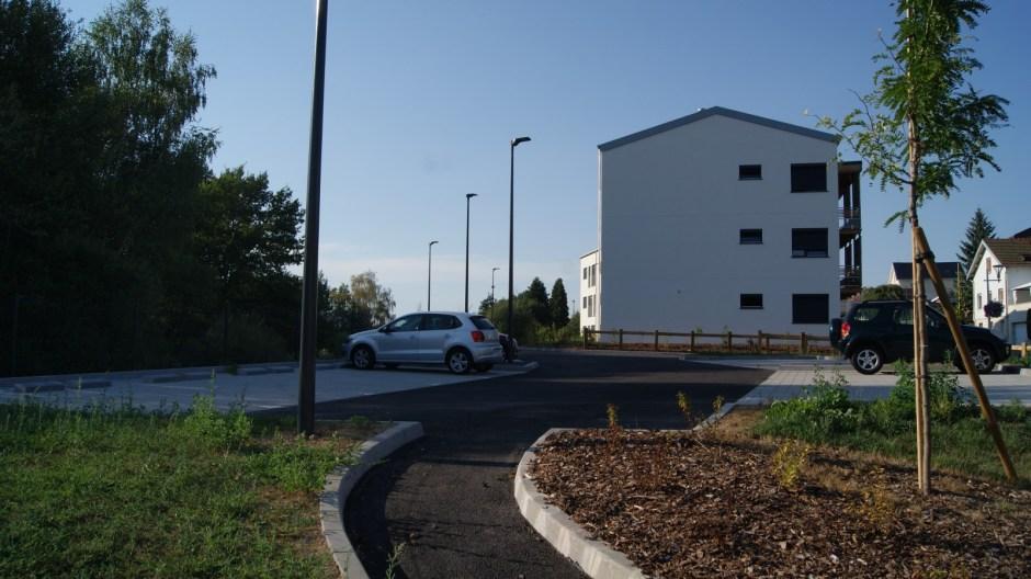 Logements économes en énergie à Chantraine.