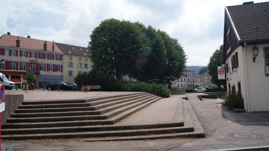 La Place du Vieux Gérardmer.
