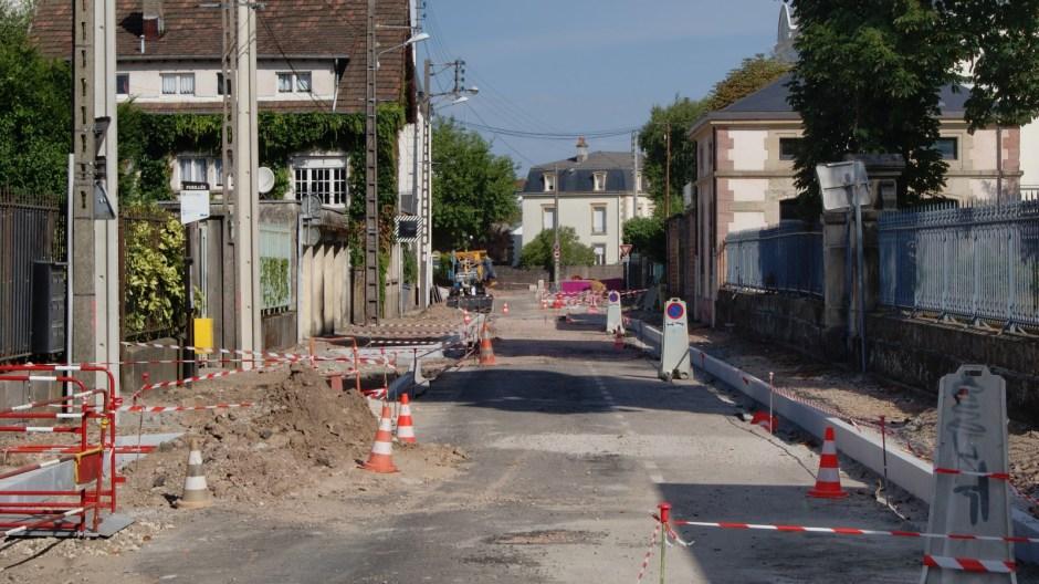 Sécurisation du carrefour de Provence et de l'avenue des Templiers à Epinal.