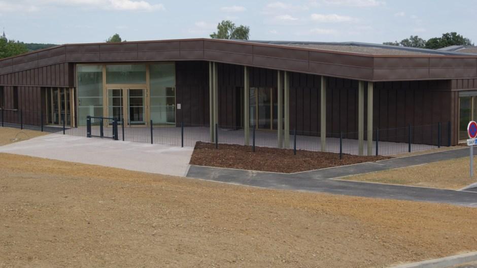 Construction du nouveau groupe scolaire d'Uxegney.