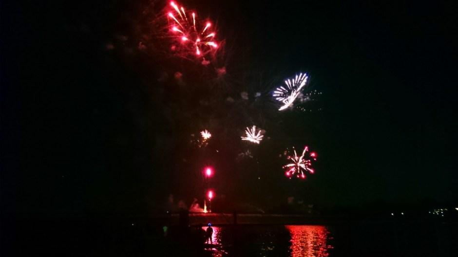 Les feux d'artifices de Bouzey 2015.