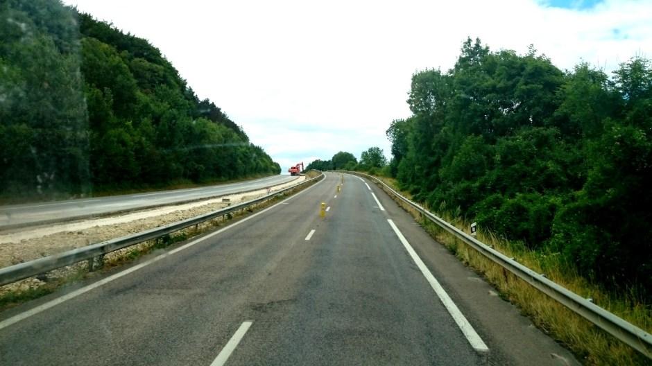 Mise aux normes de la RN4 dans la Meuse.