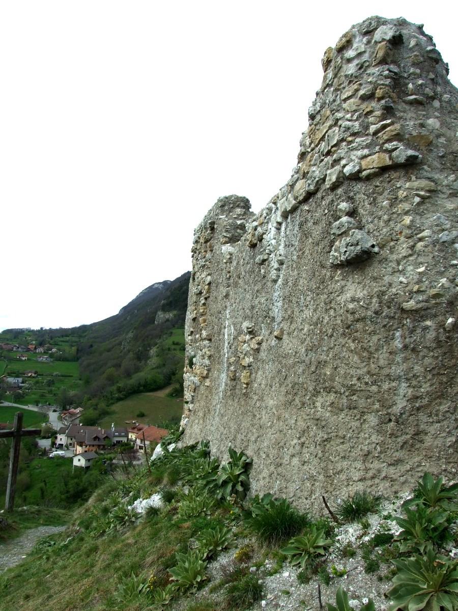 Le Château de Chaumont (Haute-Savoie).