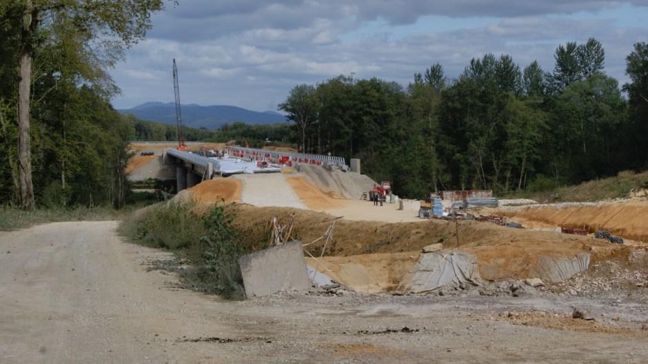 La déviation de Lure à Amblans sur la RN19.