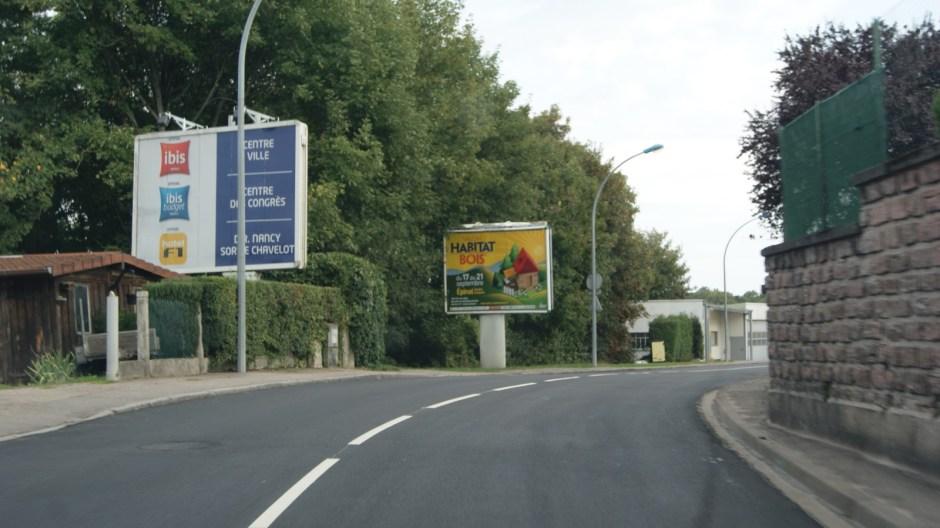 Achèvement des travaux rue Louis Barthou à Epinal.