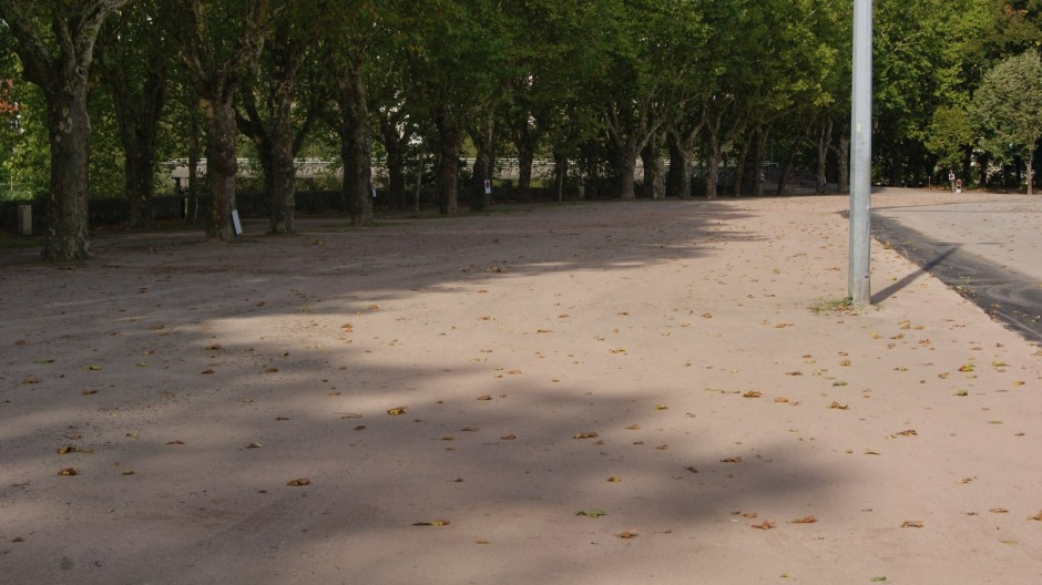 Achèvement des travaux au Champ de Mars à Epinal.