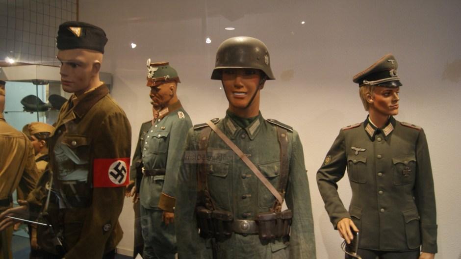 Le musée militaire de Vincey.