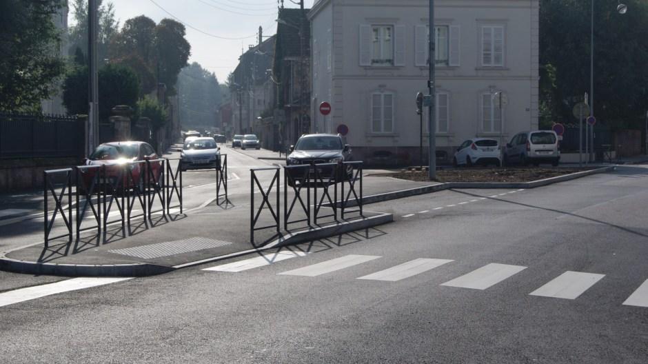 Les travaux sur la rue des Fusillés sont terminés.