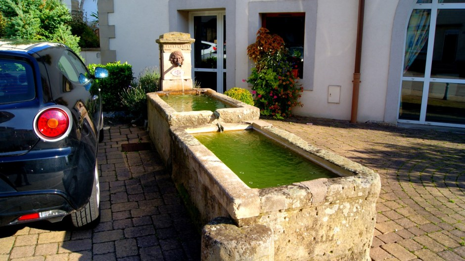 Les fontaines à Jeuxey.