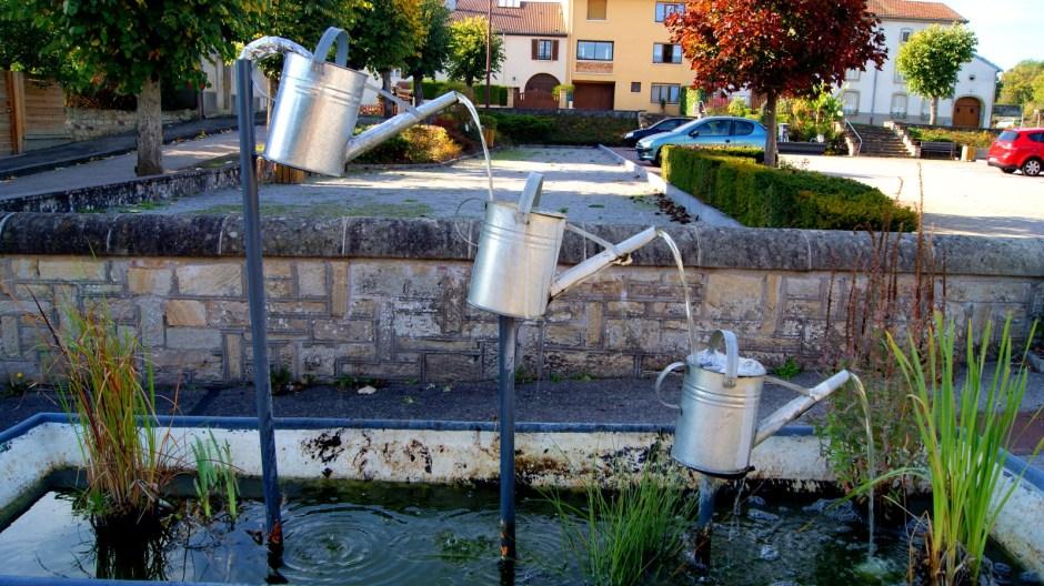 Les fontaines à Jeuxey