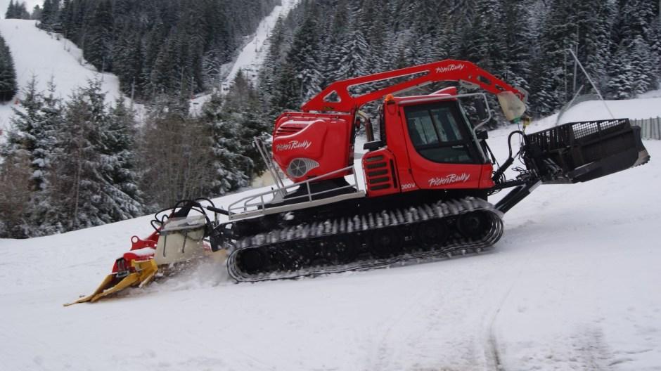 Le domaine skiable de Gérardmer.