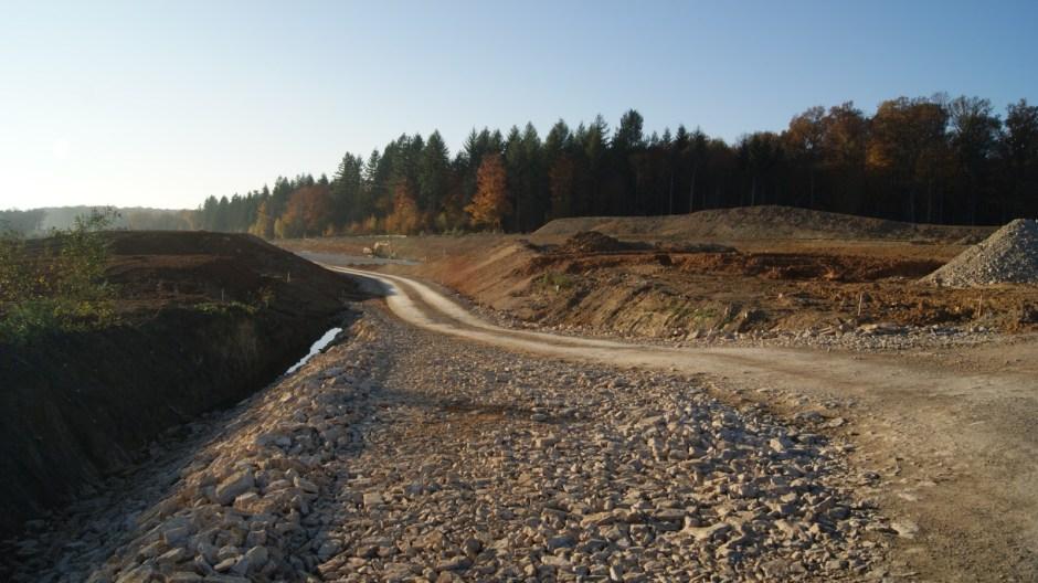 Mise à 2x2 voies de la RN19 à Lure.