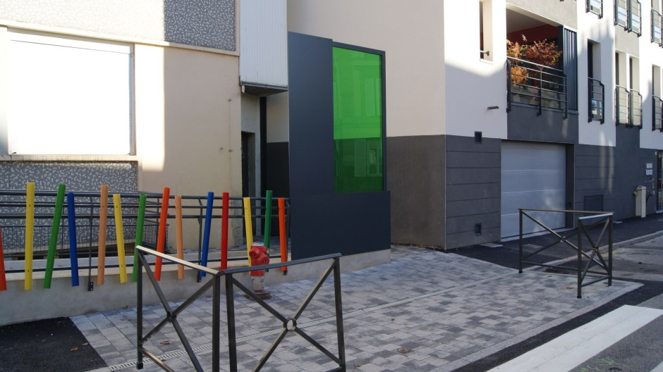 Le nouvel immeuble rue de la Préfecture.