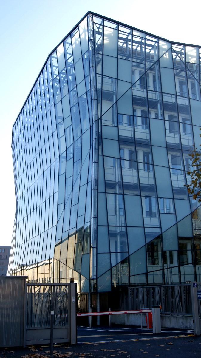 Siège du quotidien d'informations La Montagne à Clermont-Ferrand le 11/11/2015.