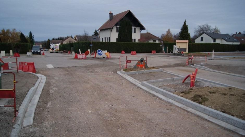 Le quartier Jeanne d'Arc à Golbey.