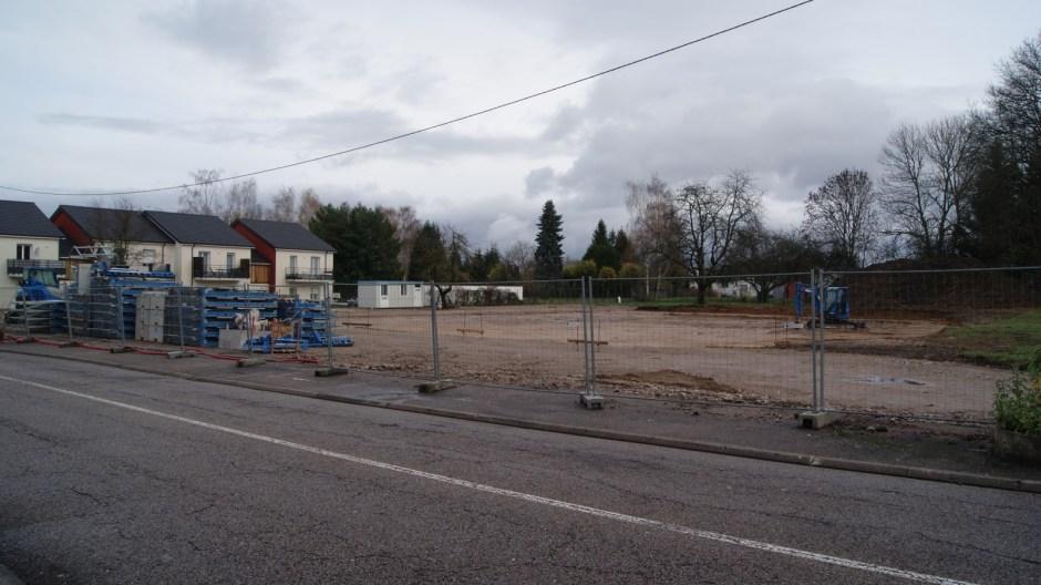 L'emplacement de la future crèche à Golbey.