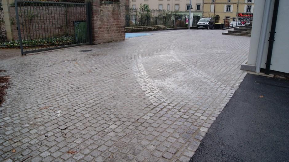 Le pôle Images de la maison romaine.