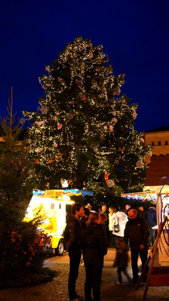Le village de Noël 2015 d'Epinal.