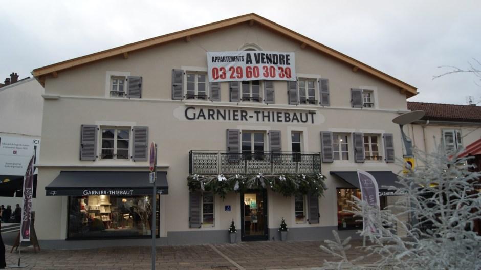La boutique Garnier-Thiébaut à Gérardmer.