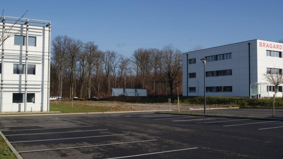 Construction d'un nouveau bâtiment de bureaux Espace Majorelle à Epinal.