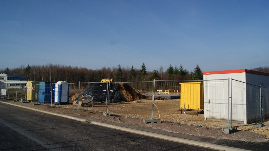Construction d'un bâtiment de bureaux In Extenso à la Voivre.