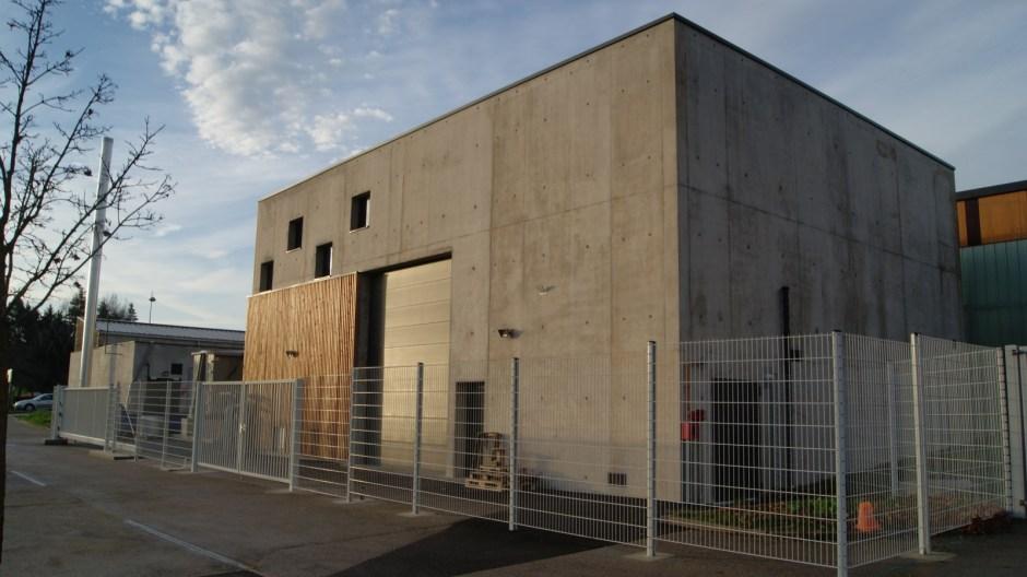 Construction d'une unité de gazéification à Epinal.