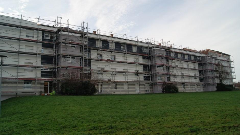 Réhabilitation des logements de la Baudenotte au Saut-le-Cerf.
