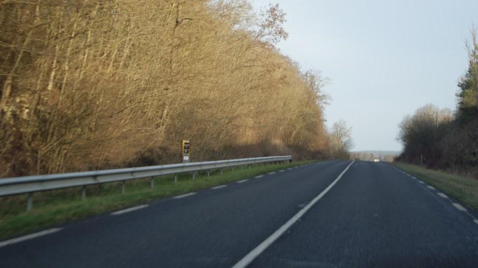 Radar automatique à Longchamp sur la RD46.