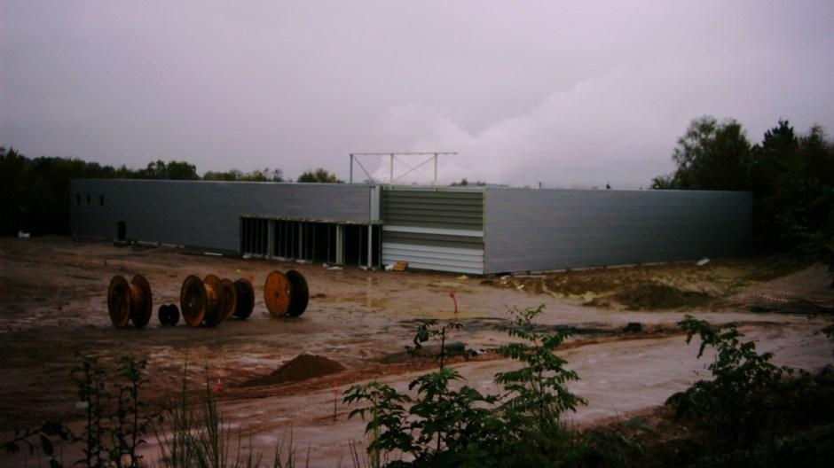 Construction de la ZAC de la Pétrolerie à Golbey.