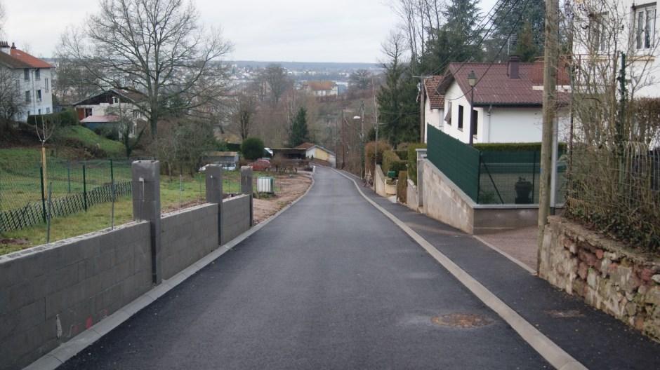 La ruelle de Laufromont.
